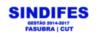 SINDICATO DOS TRABALHADORES INSTITUIÇÕES FEDERAIS DE ENSINO – SINDFES/BH